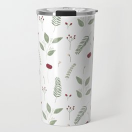 Winter flowers Travel Mug