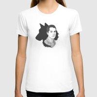 teen wolf T-shirts featuring Stiles Teen Wolf Portrait by Kjerstin A