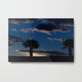 Palm Sunset - IV Metal Print