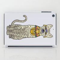 returns iPad Cases featuring Ancient Cat Returns by Fathi