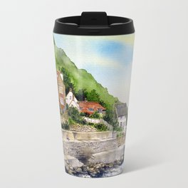Summer in Runswick Bay Travel Mug