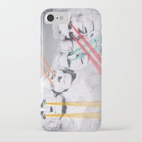 rushmore iPhone & iPod Cases featuring Embroidered Mt. Rushmore by Mana Morimoto