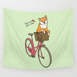 Take Me for a Ride Wall Tapestry