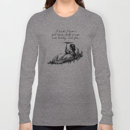 Wuthering Heights - Emily Bronte Long Sleeve T-shirt