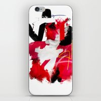 cracked iPhone & iPod Skins featuring Cracked by Daniel Malta