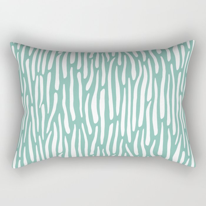 Jungle Stripes Rectangular Pillow