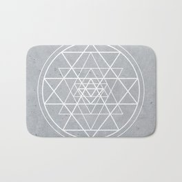 Sacred Geometry - Align At Your Center Bath Mat