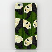 panda iPhone & iPod Skins featuring Panda by Ben Geiger