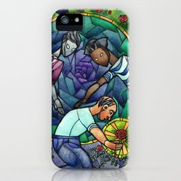 The Rose Maze iPhone Case
