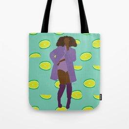 Sassy Lime Bawse Tote Bag