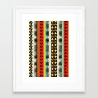 ethnic Framed Art Prints featuring Ethnic by Katya Zorin