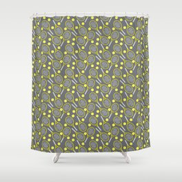 Tennis Joy Shower Curtain