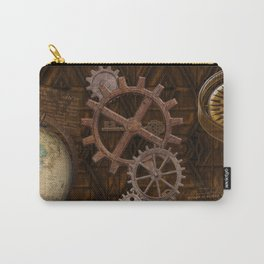Comforts of Steampunk Carry-All Pouch