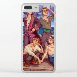 Pirates Clear iPhone Case