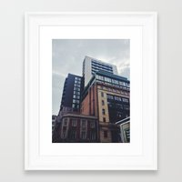 manchester Framed Art Prints featuring Manchester  by Dave Hailes