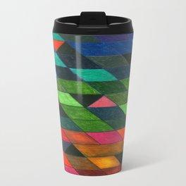 Pattern #1 Tiles Metal Travel Mug