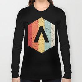 Retro Sparta Lambda Icon Long Sleeve T-shirt