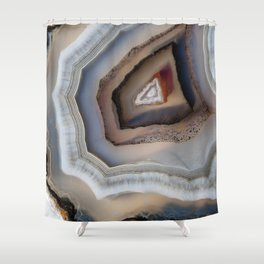 Laced agate 1730 Shower Curtain