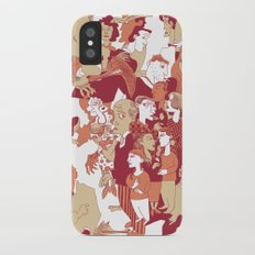 Beware the wolf iPhone X Slim Case