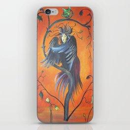 Gamaun The Prophetic Bird With Ruffled Feathers iPhone Skin
