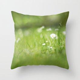 Flora calling Throw Pillow