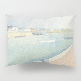 Georges Seurat - The Channel of Gravelines Pillow Sham