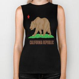 Happy California Admission Day Biker Tank