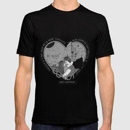 """So alive"" by Ryan Adams T-shirt"