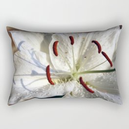 11th Anniversary Lillies #3 Rectangular Pillow