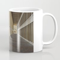 outdoor Mugs featuring Outdoor Corridor by Kevin Myron