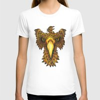 phoenix T-shirts featuring Phoenix by J Bradford Illustration