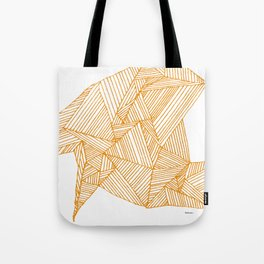Lines on Napkin Tote Bag
