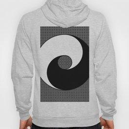 B&W YIN & YANG Taoism/Daoism ART Hoody