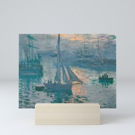 Sunrise Marine by Claude Monet, 1873 Mini Art Print