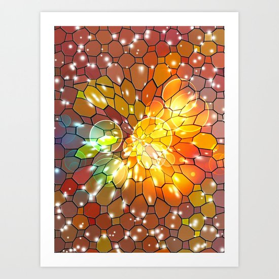 Big Dreams Colors by Nico Bielow Art Print