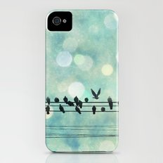 Snow Birds iPhone (4, 4s) Slim Case