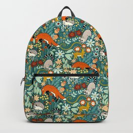 Woodland Pattern Backpack