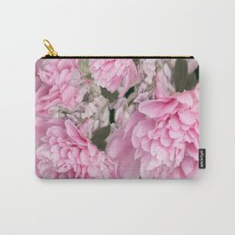 Pink Bouquet On A Black Background  #society6 #buyart Carry-All Pouch