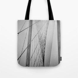 Santiago Calatrava Bridge Tote Bag