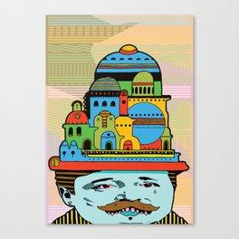 GLAD HATTER 2 Canvas Print