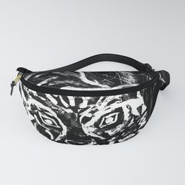 Tiger in the night Fanny Pack