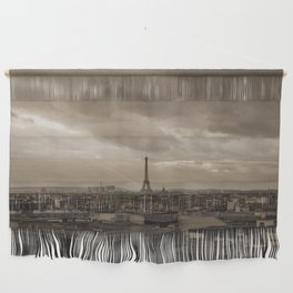 Rooftop view of Paris Wall Hanging