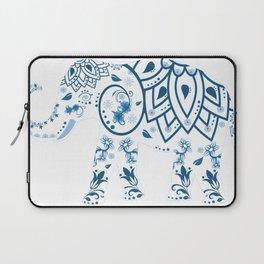 Floral Elephant Laptop Sleeve