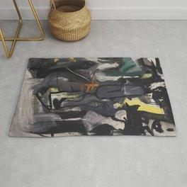 Franz Kline Untitled  Rug