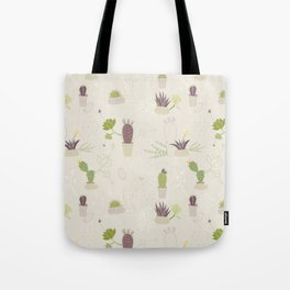 My Potted Cactus Pattern Tote Bag