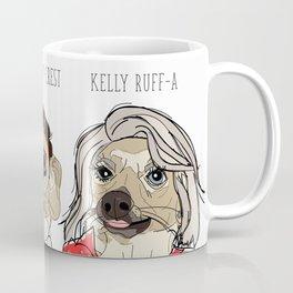 Celebrity Dogs-Ryan Chew-Crest & Kelly Ruff-A Coffee Mug