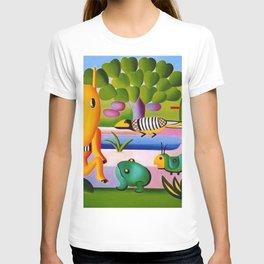 Classical Masterpiece 'A Cuca' by Tarsila do Amaral T-shirt