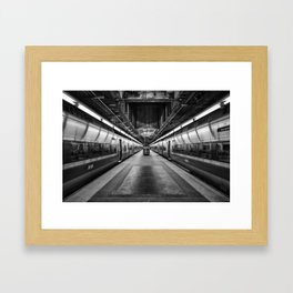 Metro-North Railroad Framed Art Print