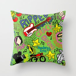 Ripped by Katy Evans Throw Pillow