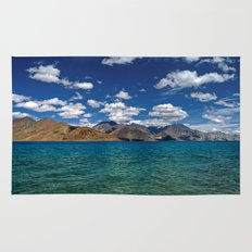 Evening Blues...Pangong Lake Rug